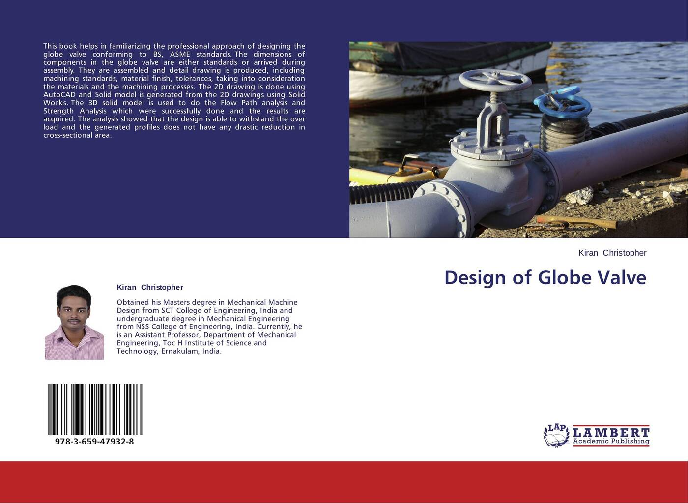Kiran Christopher Design of Globe Valve alan johnson recommendations for design and analysis of earth structures using geosynthetic reinforcements ebgeo