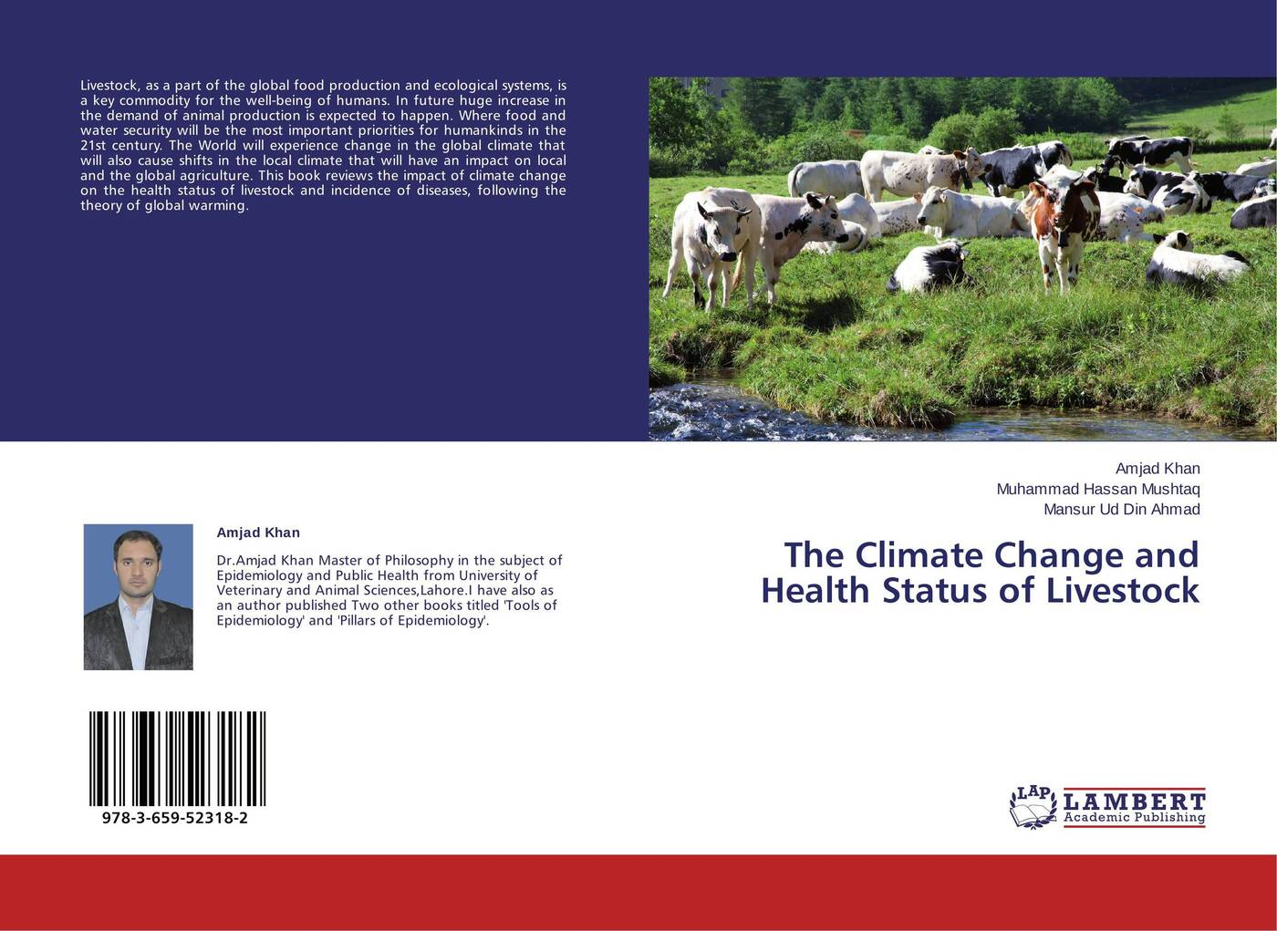 Amjad Khan,Muhammad Hassan Mushtaq and Mansur Ud Din Ahmad The Climate Change and Health Status of Livestock ana lopez modelling the impact of climate change on water resources