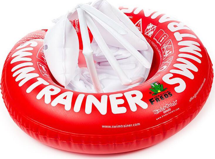Круг для купания Swimtrainer Classic от 3 месяцев до 4 лет Красный