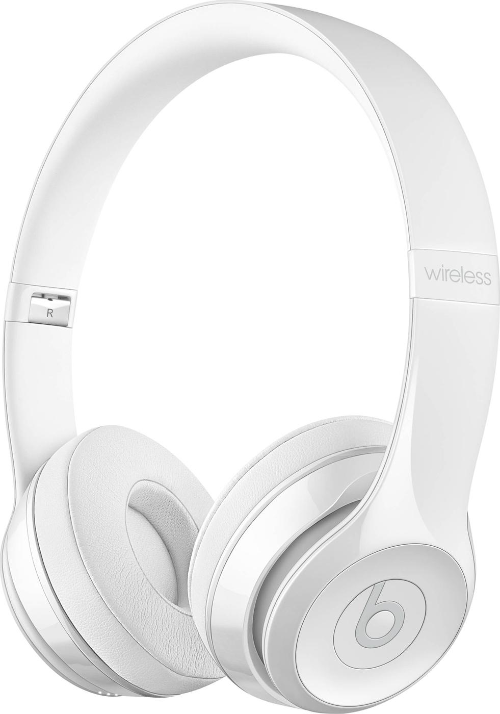 Наушники Beats Solo 3 беспроводные Gloss White