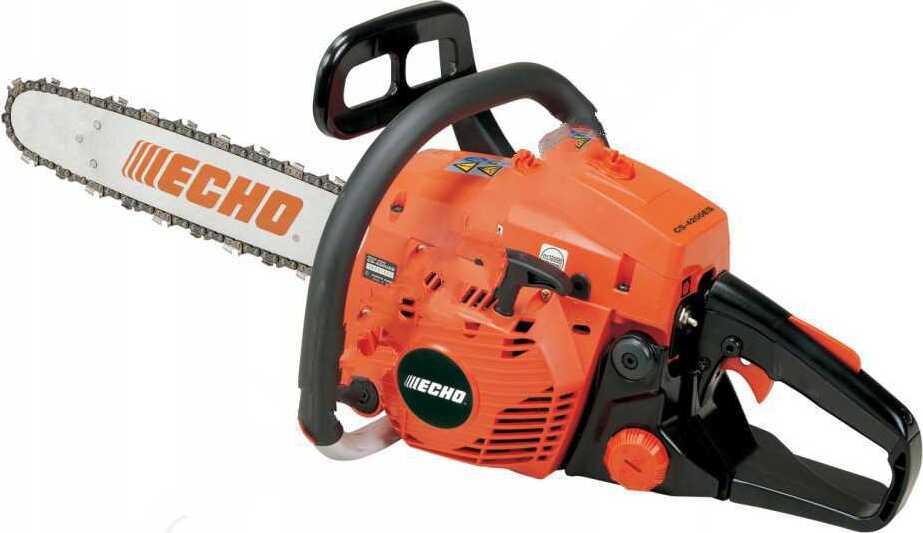 Бензопила ECHO CS-4200ES-15 0,325-1,3-64 (1,89кВт, 4,4кг) бензопила echo cs 4200es 16
