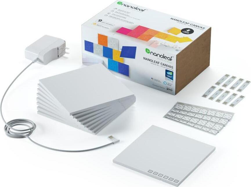 Комплект умных ламп Nanoleaf Canvas Smarter Kit (9 панелей) c AppleHomekit