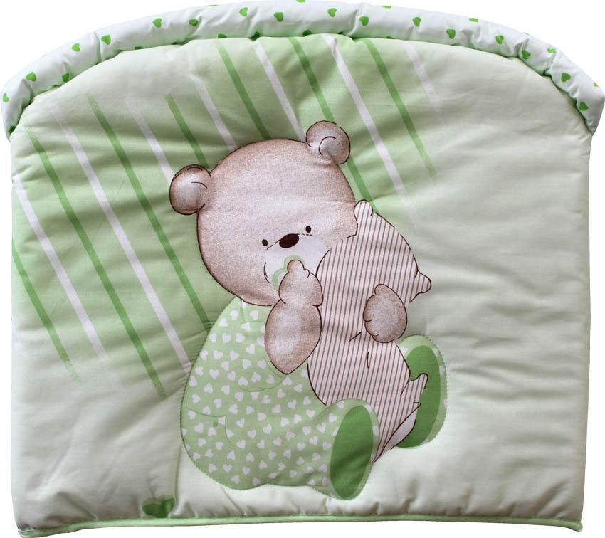 Бампер в кроватку Мишутка