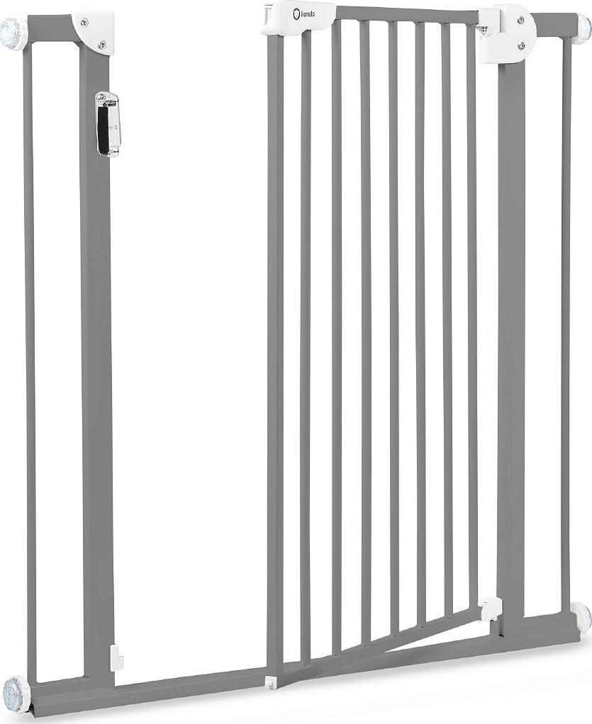 Ворота безопасности Lionelo LO-TRUUS Slim Led Grey от 75-105 см