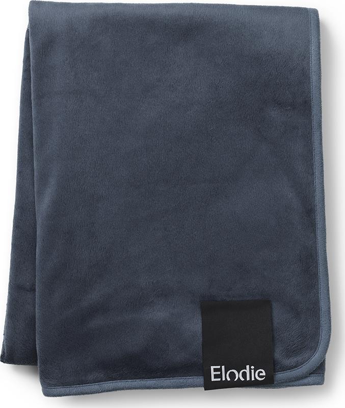 Elodie плед Velvet - Juniper Blue