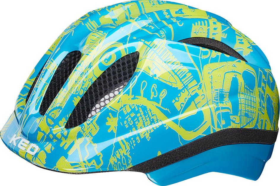 Шлем KED Meggy Trend Blue Yellow, размер S/M KED