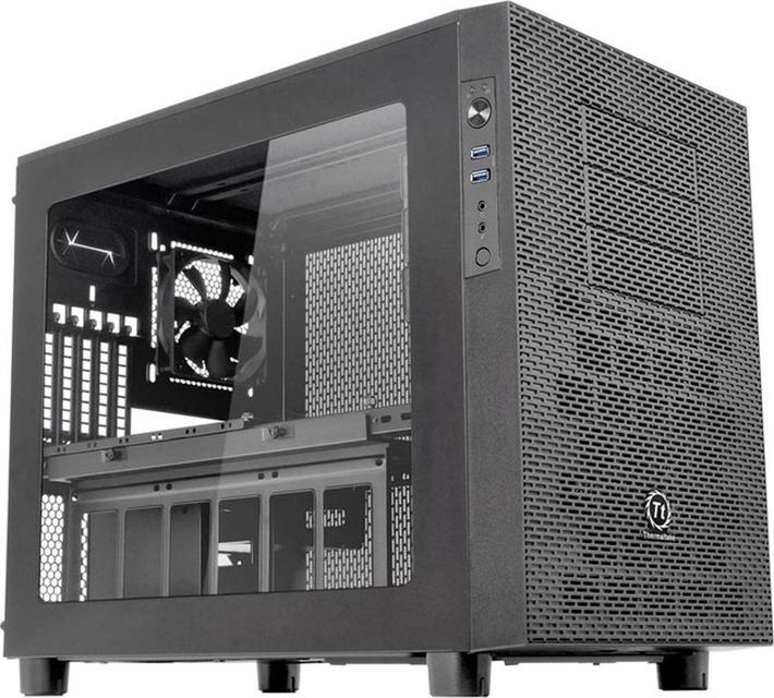 Компьютерный корпус Thermaltake Core X2 CA-1D7-00C1WN-00 /Black/Win/SECC