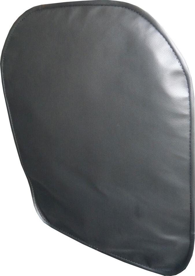 Lux Cover защитный чехол на спинку переднего сиденья из экокожи (Черный)
