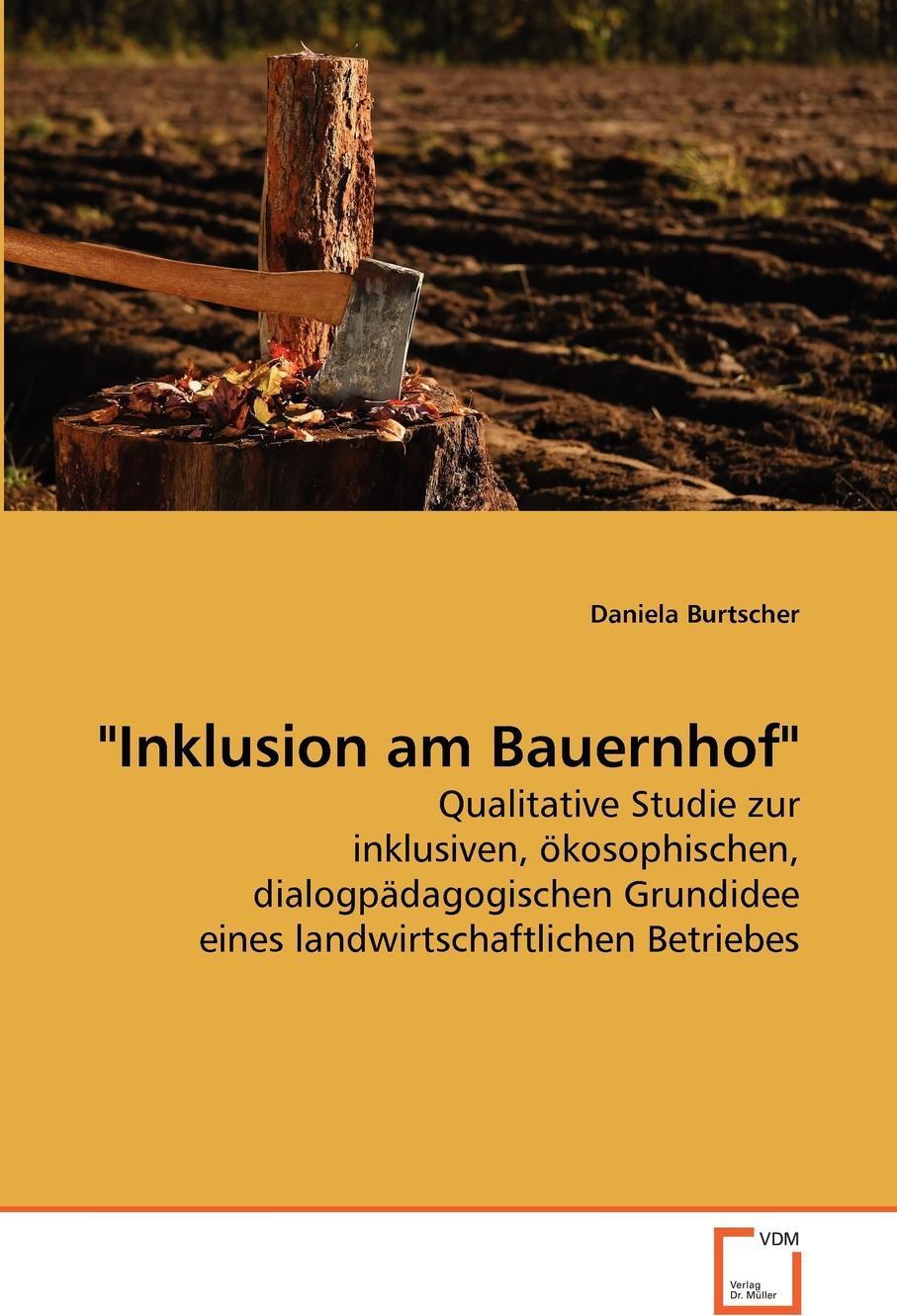 """Daniela Burtscher. """"Inklusion am Bauernhof"""""""
