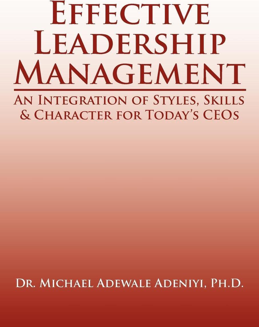 Effective Leadership  ...