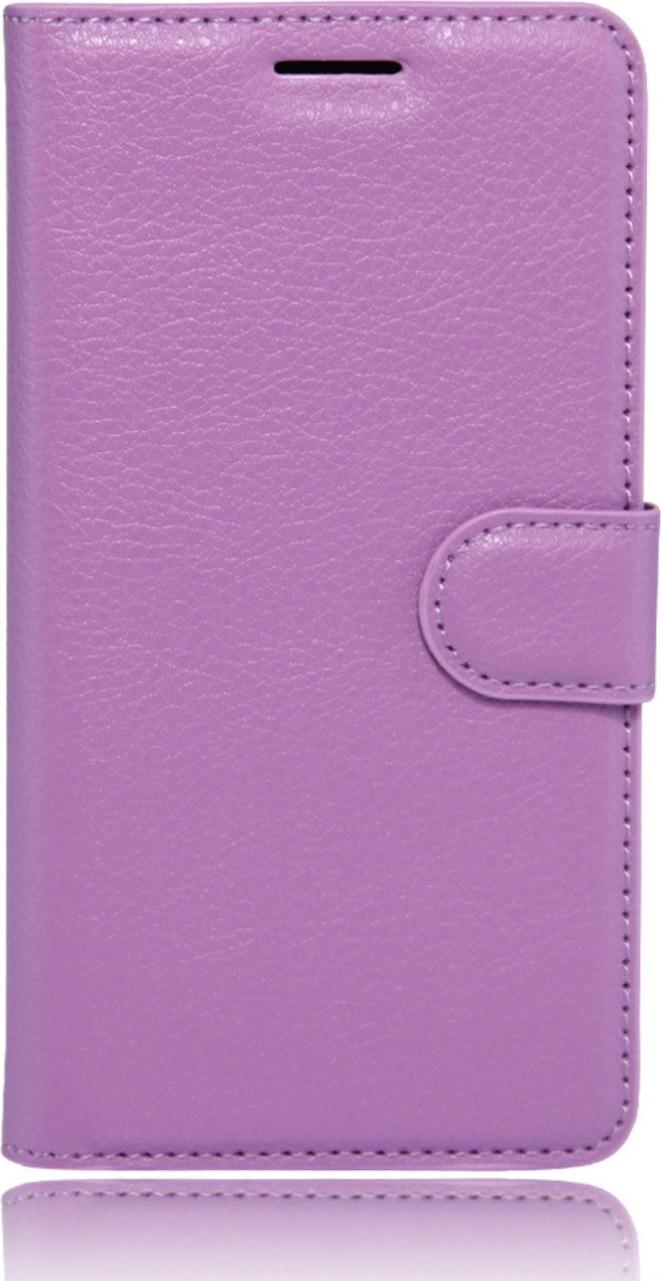 """Чехол для сотового телефона MyPads для Lenovo Vibe Z2 mini K920 5.5"""" с мульти-подставкой застёжкой и визитницей фиолетовый"""