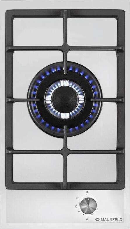 Газовая варочная панель MAUNFELD EGHG. 31. 33CW/G Мощность конфорок 1 конфоркамощностью: 3800Вт Ширина 300 мм Размеры...