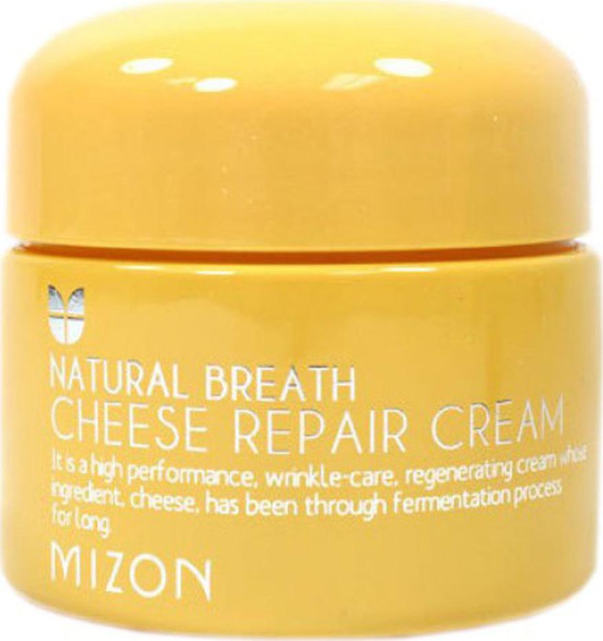 Крем сырный для лица Mizon Natural Breath Cheese Repair Cream 50 мл Этот богатый на витамины и минералы комплекс способен сотворить...