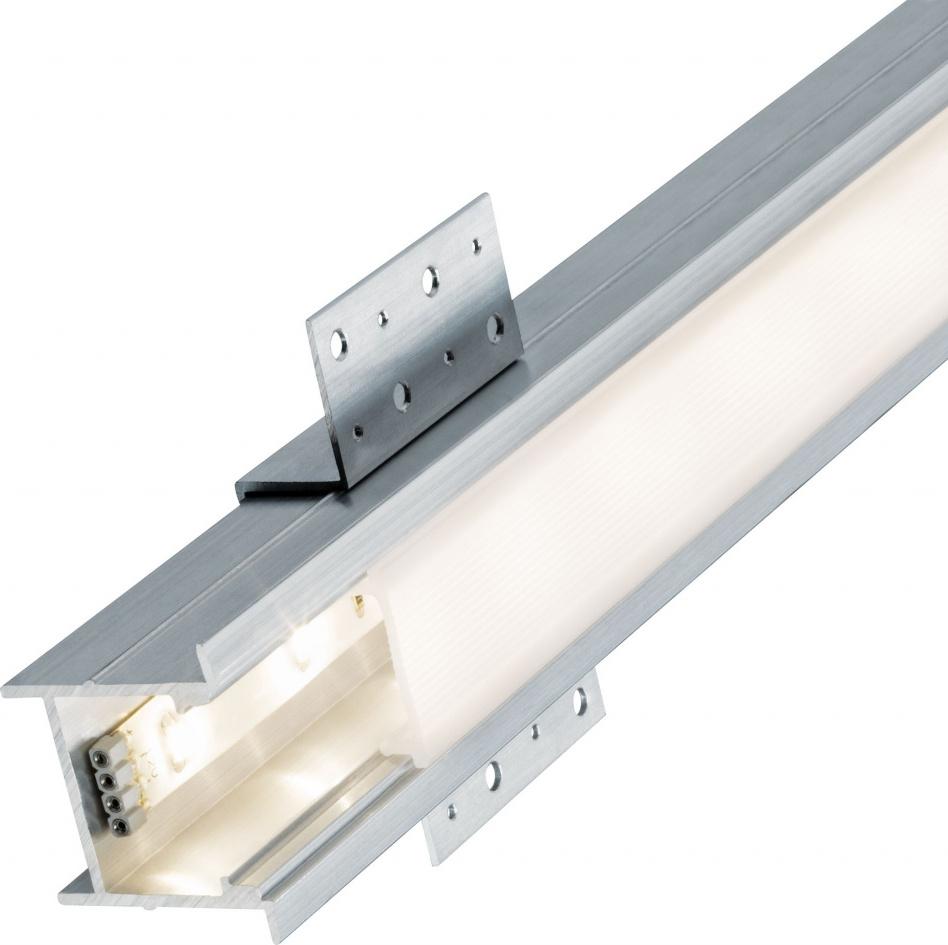 Профиль для светодиодной ленты Oblong Profil Diff 200cm Alu elox/Sat