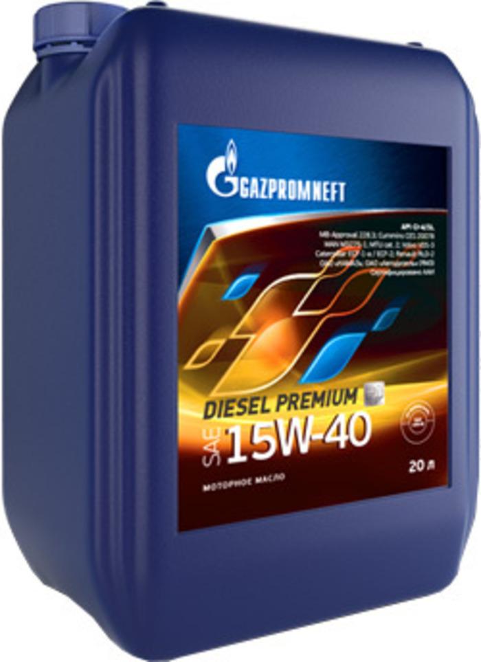 Масло Gazpromneft Diesel Premium 15W-40, 20 л