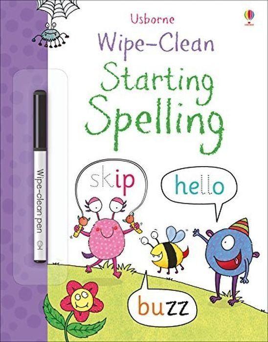 Jane Bingham. Wipe-Clean Starting Spelling | Бингэм Джейн