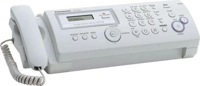 факс panasonic kx-fp207ru, серый