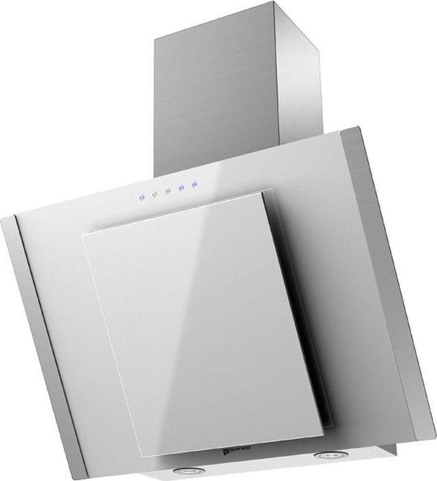 Вытяжка Shindo Ostaria 60 SS/WG sensor, белый, серебристый