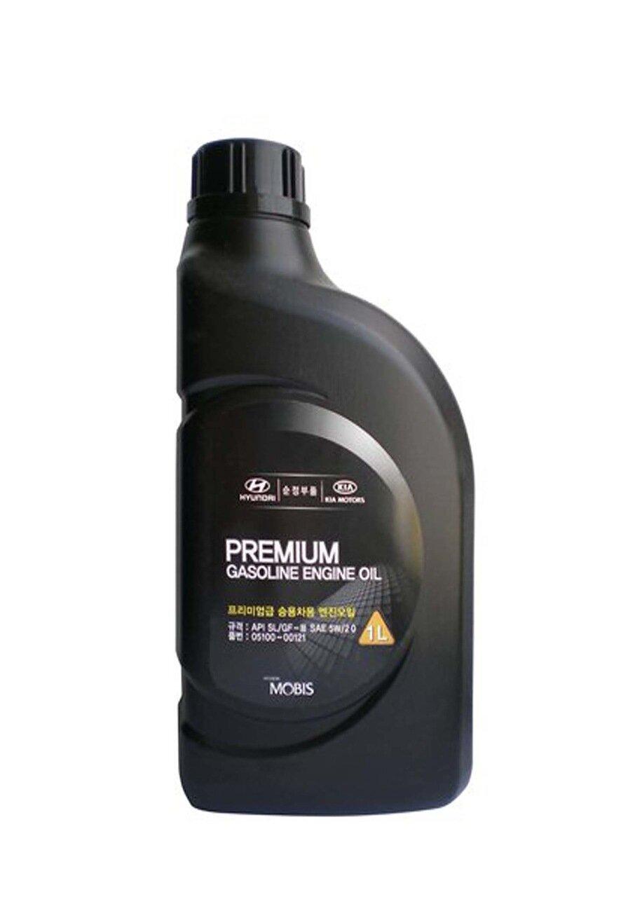 Моторное масло HYUNDAI Premium Gasoline SAE 5W-20 SL/GF-3 (1л)