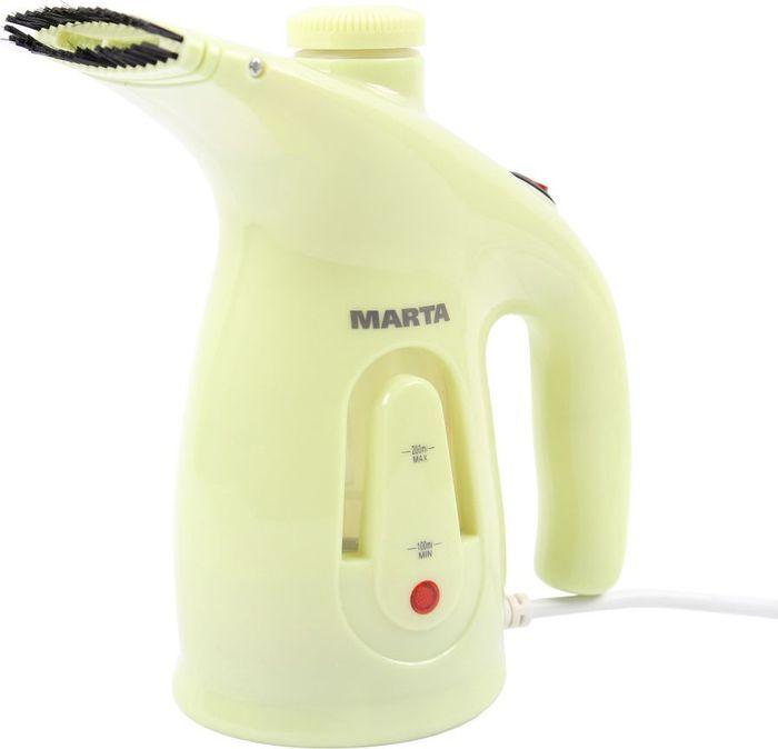 Отпариватель Marta MT-1175, зеленый нефрит