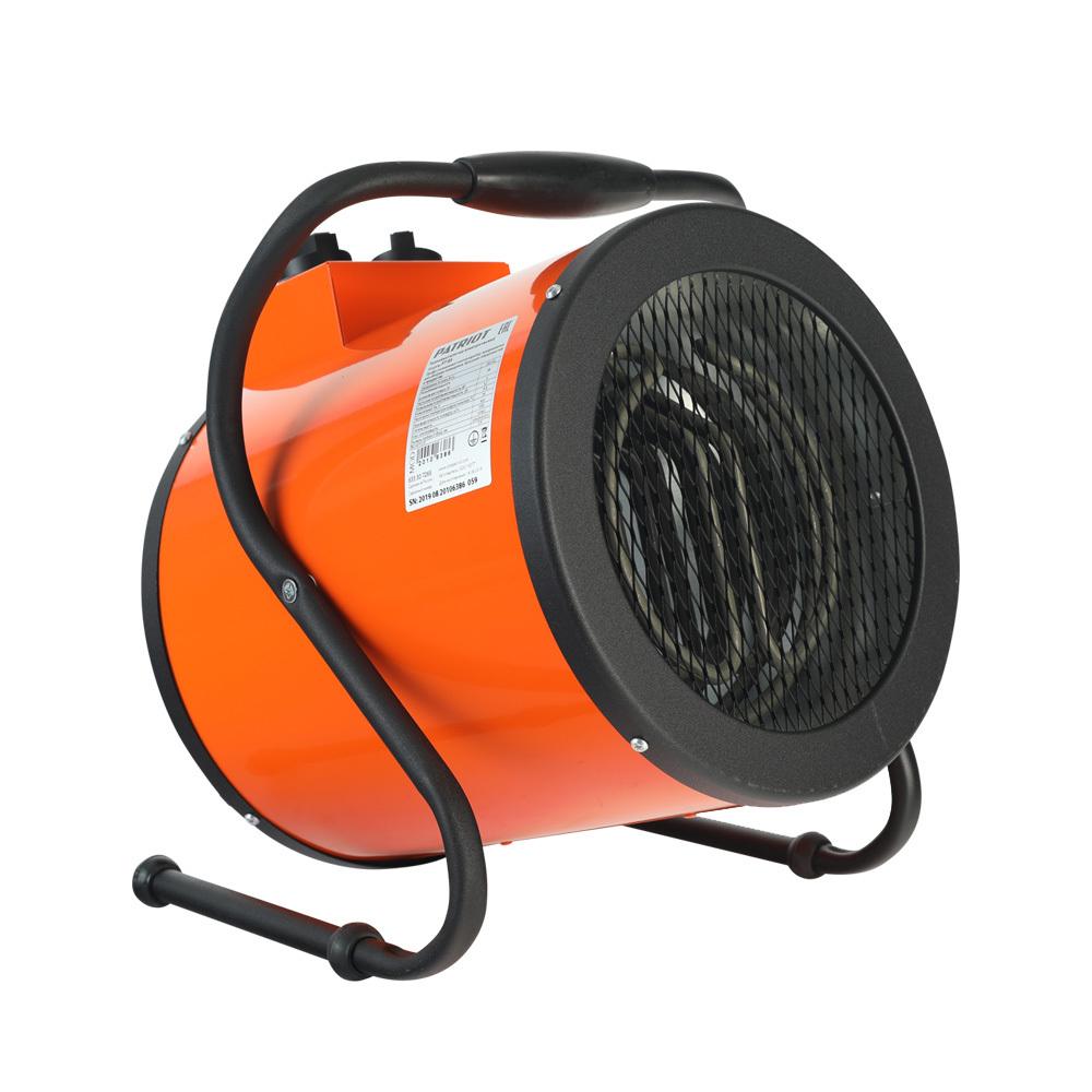 Тепловентилятор электрический PATRIOT PT-R 5, 230В, терморегулятор, нерж.ТЭН, кабель питания  без вилки,