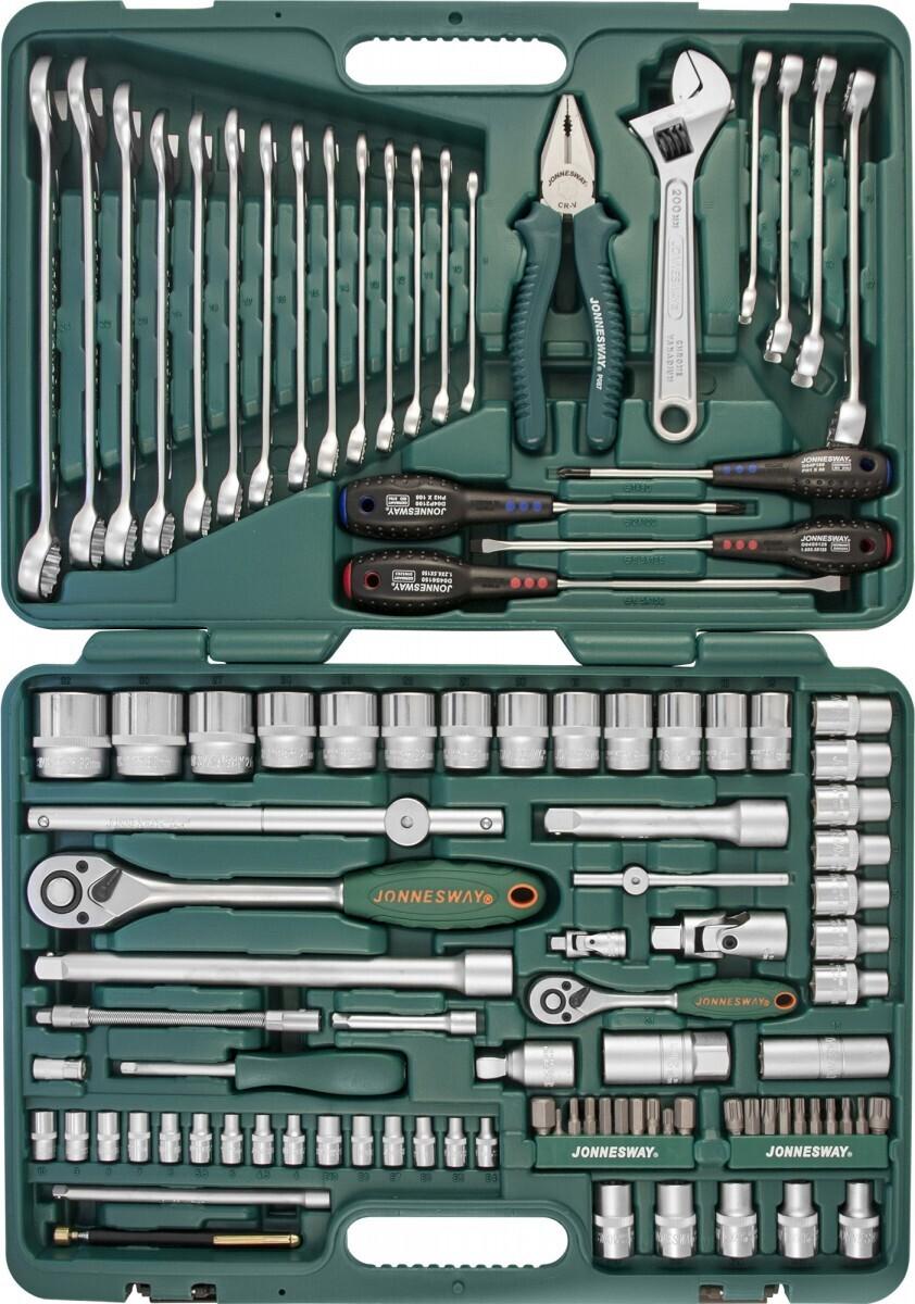 Набор инструмента 101 предмет JONNESWAY S04H624101S