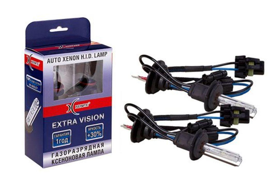 Ксеноновая лампа Xenite H7 EXTRA VISION+30`00к 35W (комплект 2 шт.)