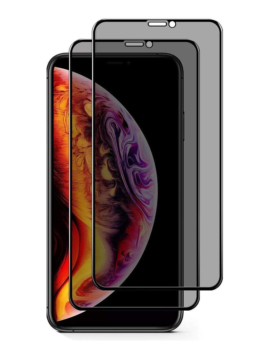 Гибкое защитное стекло для Apple iPhone X / Xs. Защита 9H полный экран на Айфон X / Xs. 2 шт, DIMD