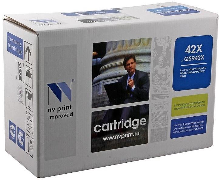 Картридж NV Print NV-Q5942X, черный, для лазерного принтера, совместимый