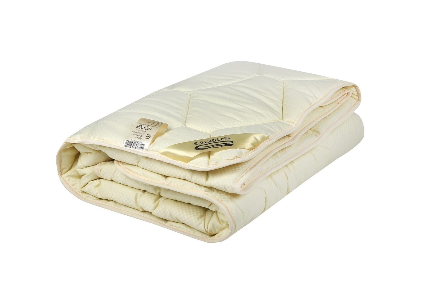 Одеяло Sn Textile МС-О-22 Евро, 200x220, Всесезонное, с наполнителем Мериносовая шерсть
