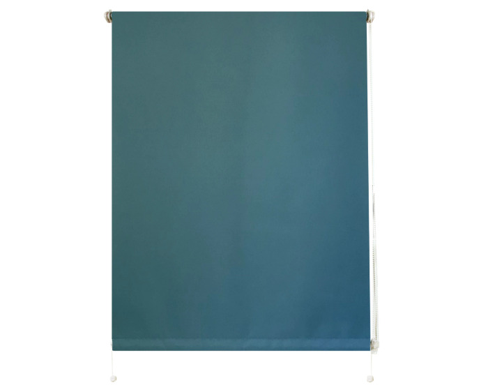 Штора рулонная 50х160 см цвет голубой-20706
