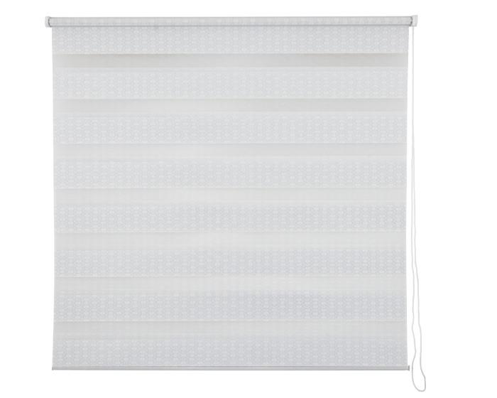 Рулонная штора 140х175 цвет серый-20576
