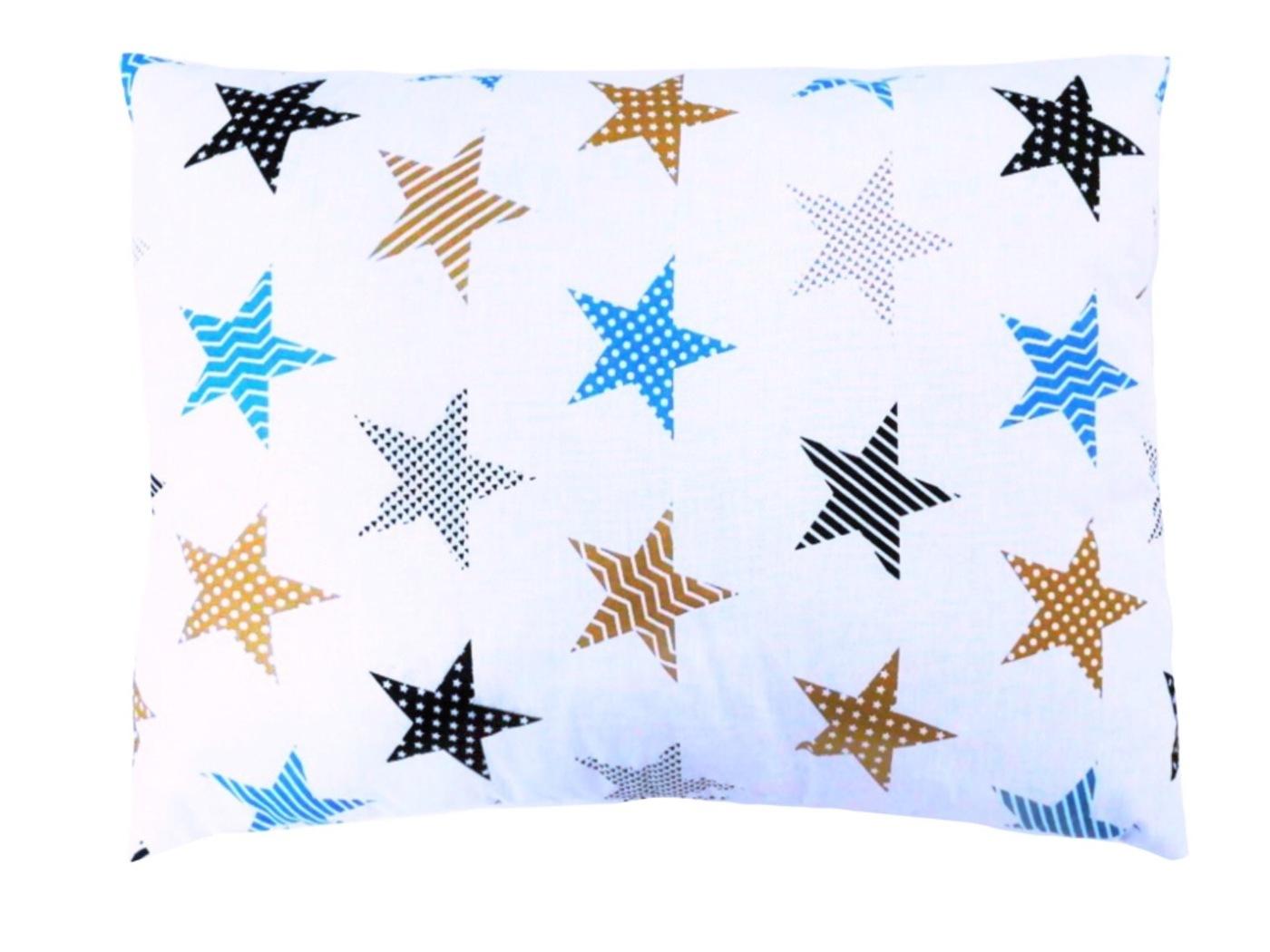 Детская подушка Lili Dreams Звезды-пэчворк, 40x60