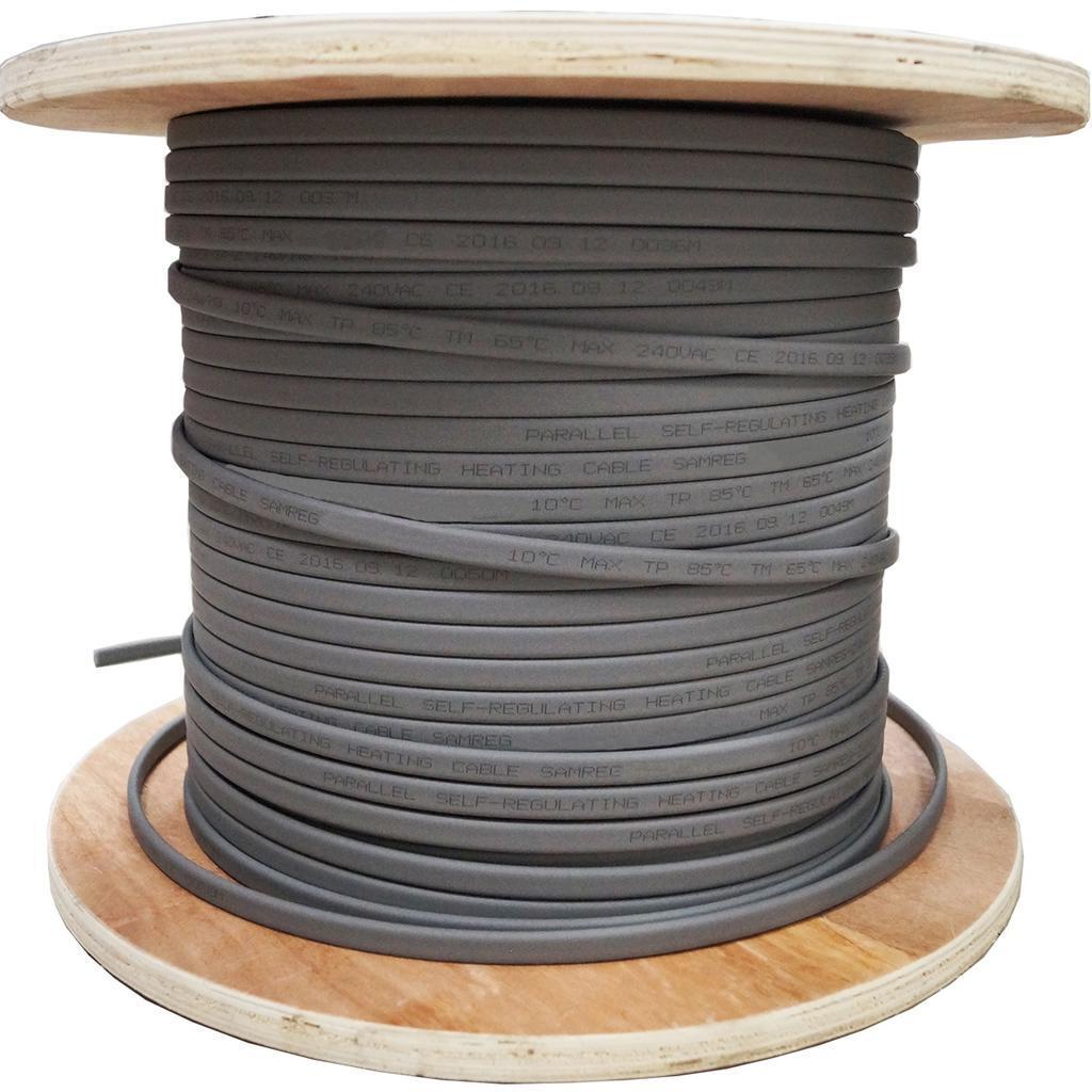 Греющий кабель Samreg на трубу, 10м 16Вт