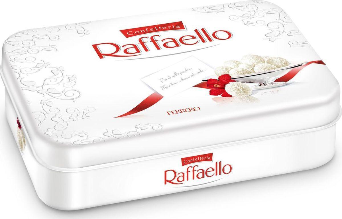 Конфеты Raffaello, с цельным миндальным орехом, в кокосовой обсыпке, 300 г  #1