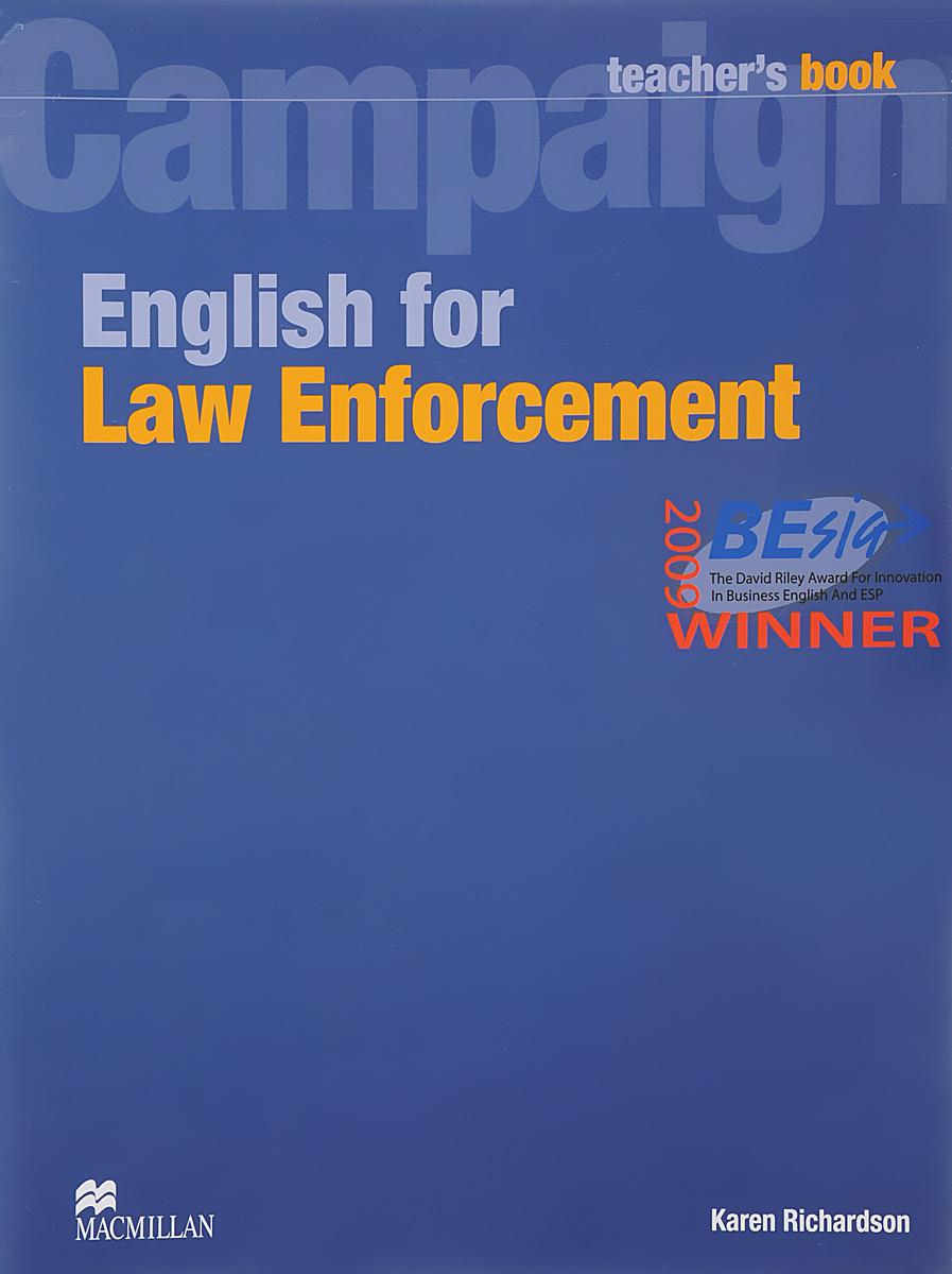 English for Law Enforcemen Teacher's Book #1