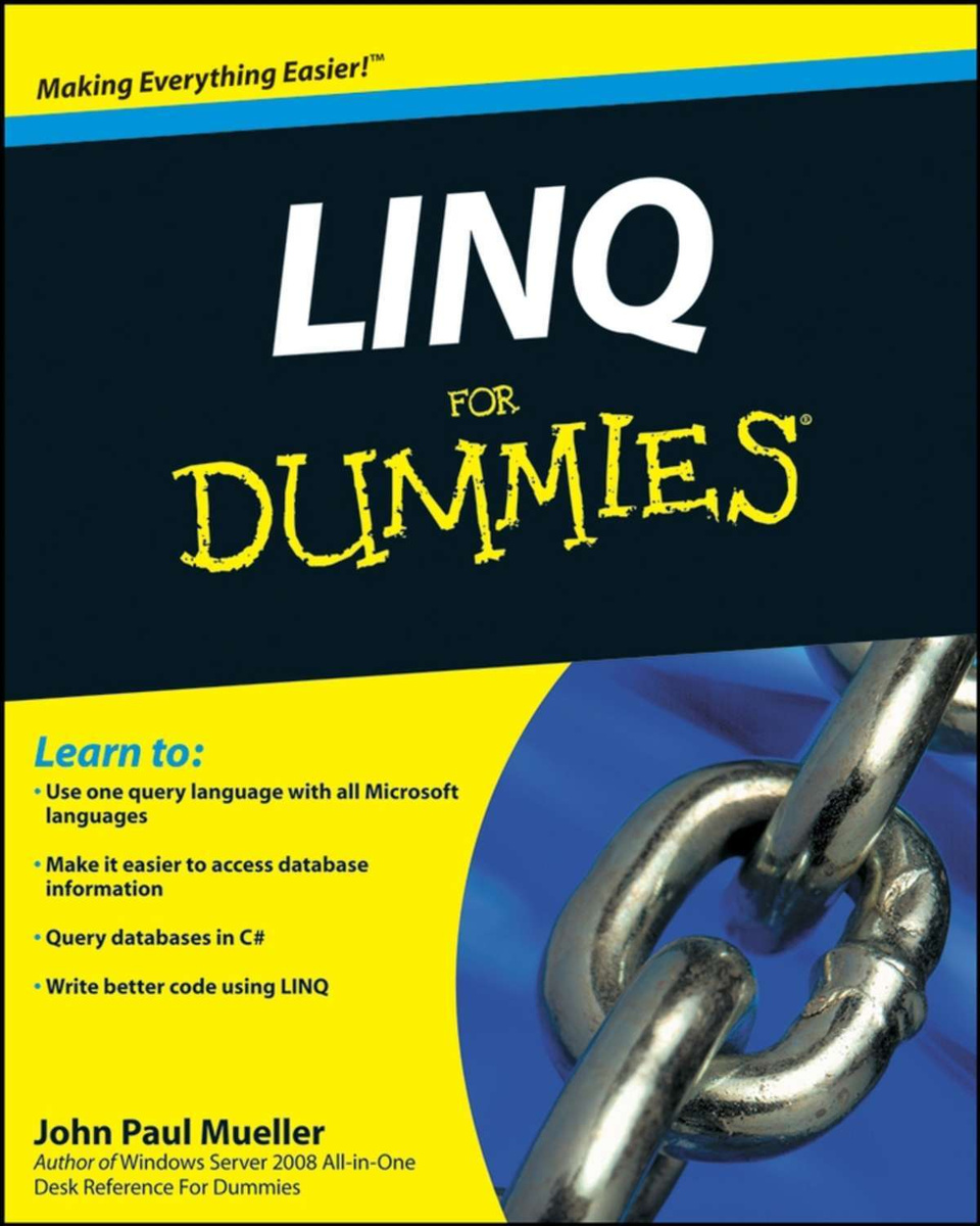 LINQ For Dummies | Mueller John Paul #1