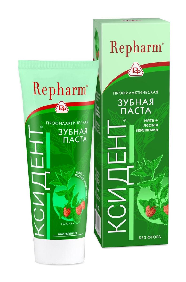 Repharm Профилактическая зубная паста Ксидент 75 гр #1