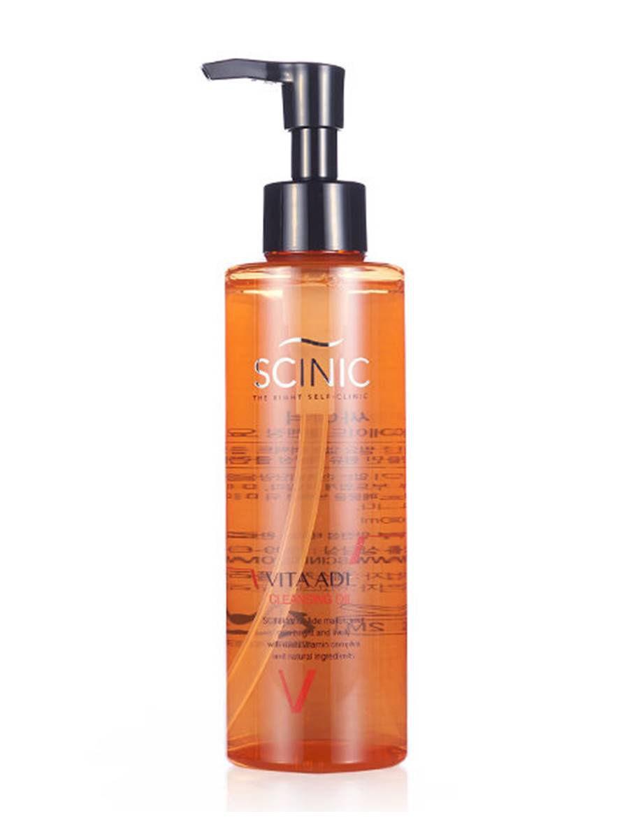 Scinic Очищающее гидрофильное масло с витаминным комплексом VITA ADE CLEANSING OIL (180мл)  #1