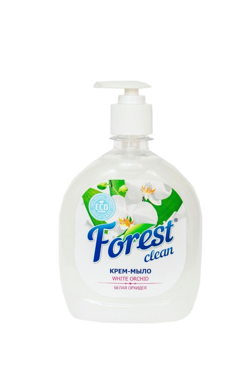 "Forest clean Крем - мыло ""Белая орхидея"", 500 мл #1"