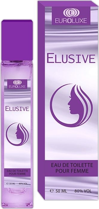 Euroluxe Elusive, женская, 50 мл Туалетная вода 50 мл #1