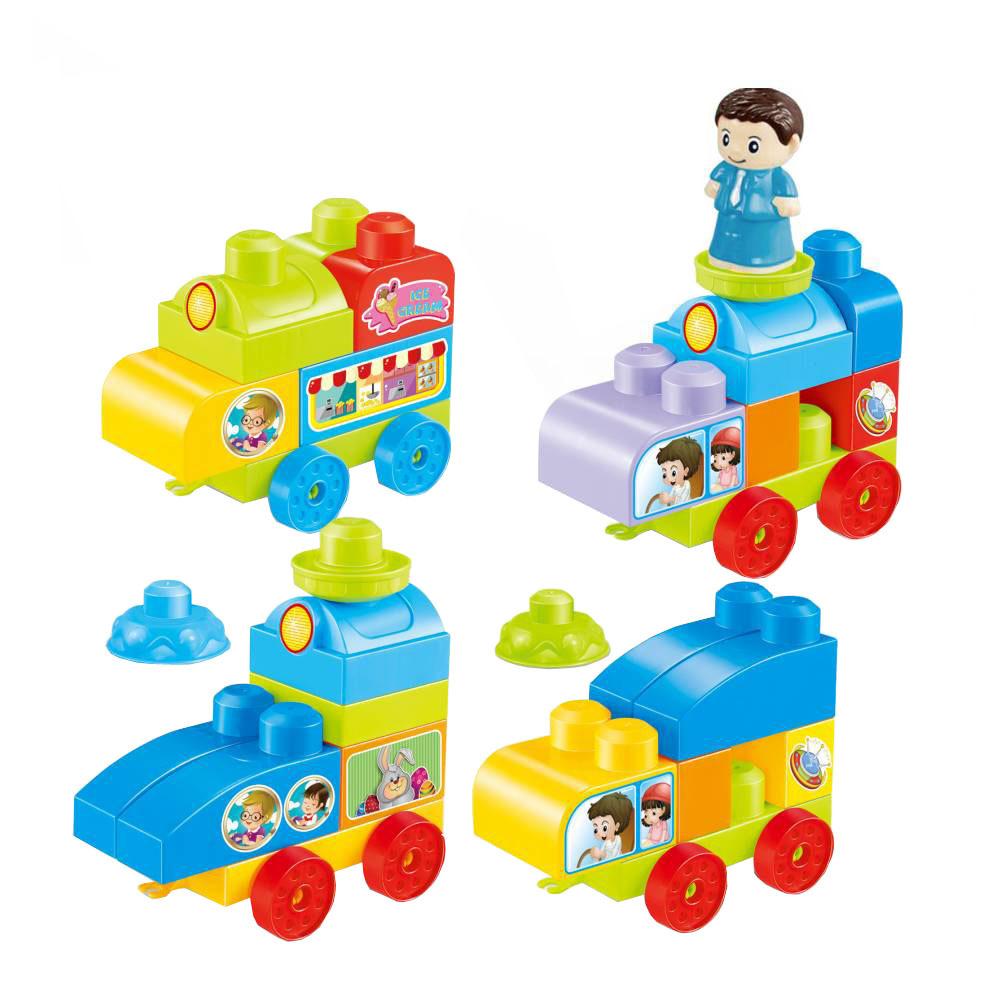Конструктор для малышей Машинки, 38 деталей, MT329305 #1