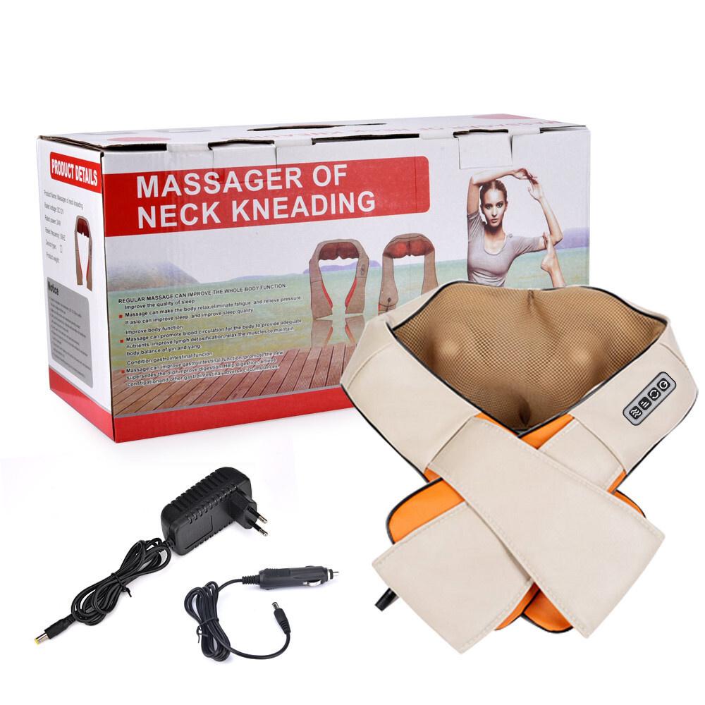 Massage Of Neck Kneading