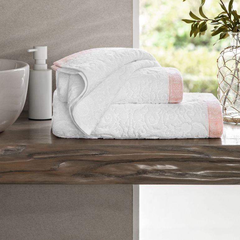 Набор банных полотенец Togas хлопковый Элизабет Махровая ткань 40x60, 50x100 см,  #1