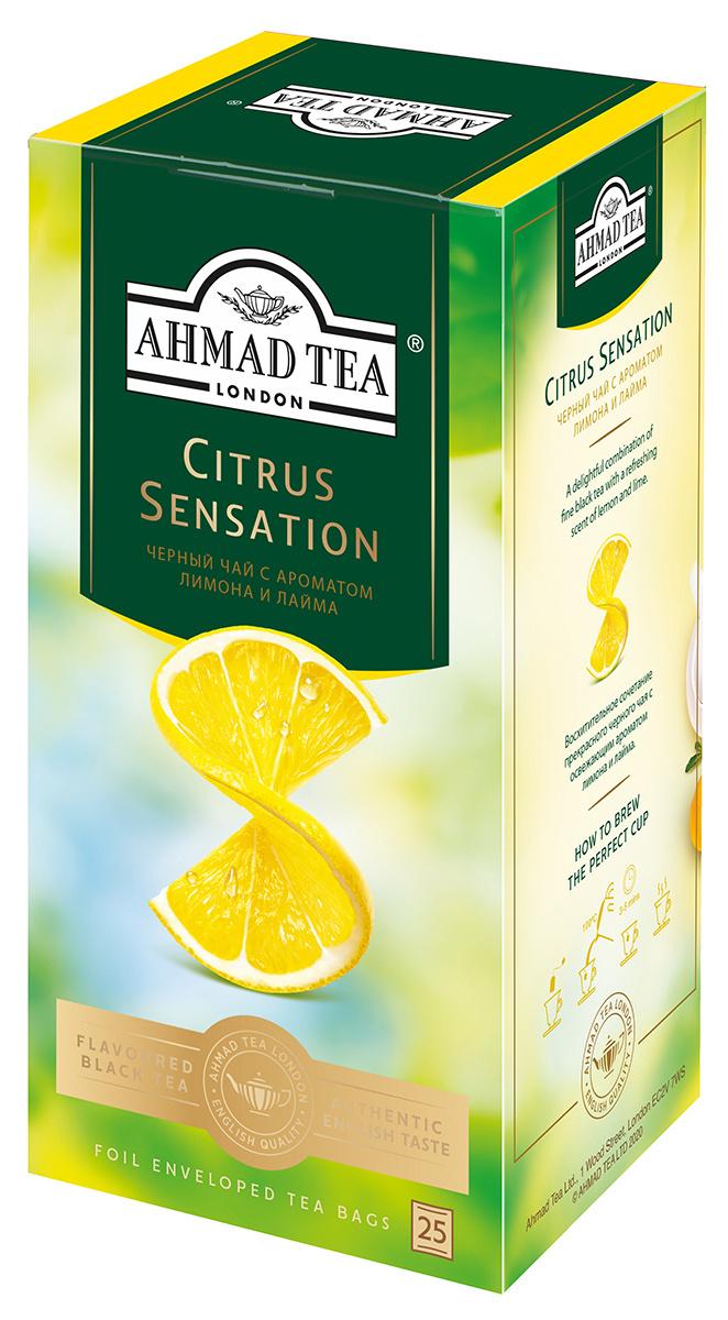 Ahmad Tea Citrus Sensation черный чай в пакетиках, 25 шт #1
