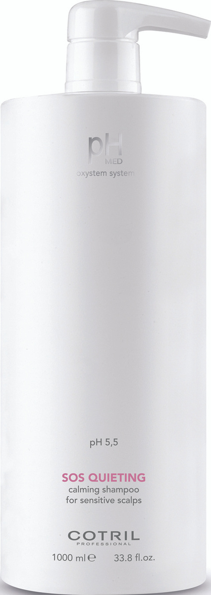Cotril Успокаивающий шампунь для чувствительной кожи головы pH MED Sos Queting Shampoo, 1000 мл  #1