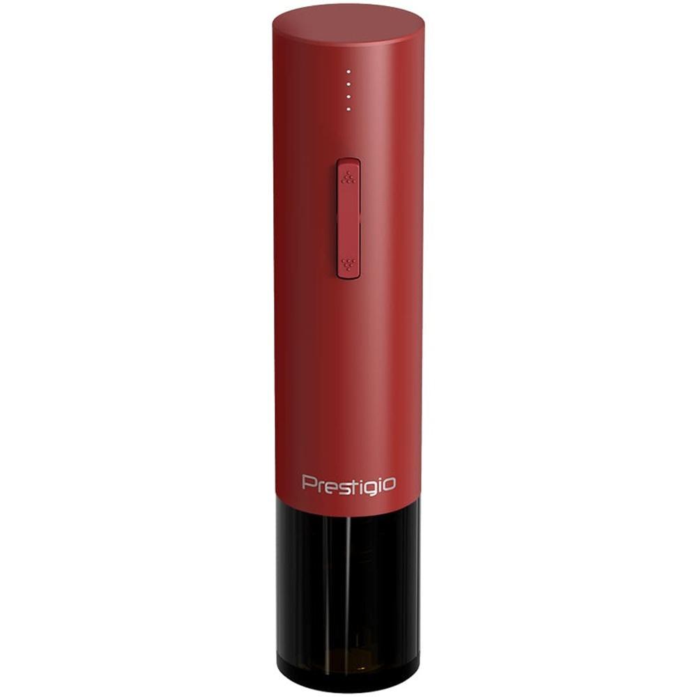 Электрический штопор Prestigio Valenze PWO106RD, световая индикация, бордовый  #1