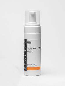 Гельтек Home care мусс очищающий с витамином С для умывания и демакияжа, 150 мл. Вместе дешевле!