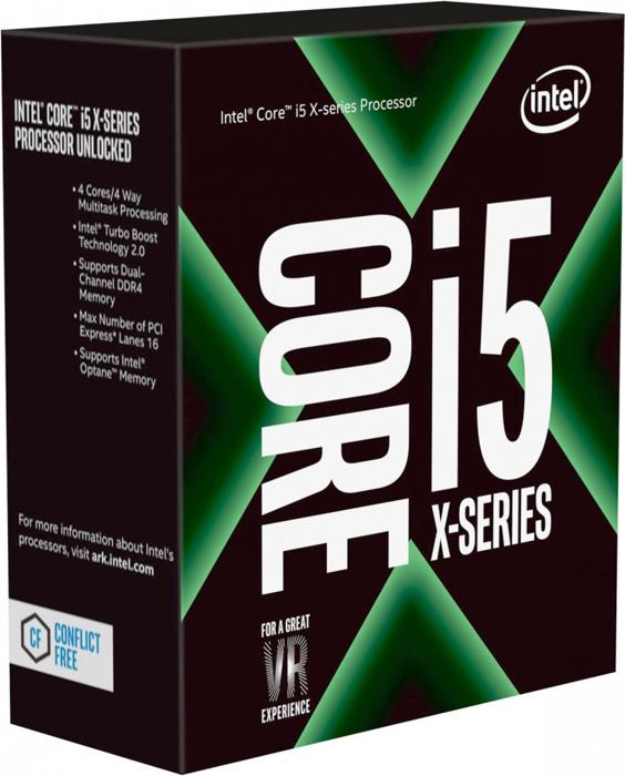Процессор Intel Core i5 - 7640X BOX без кулера, BX80677I57640X процессор intel core i5 8400 box