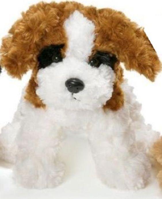 Мягкая игрушка Teddykompaniet Собачка, белый, коричневый, 23 см